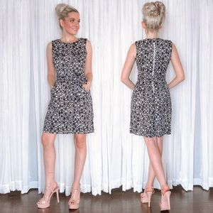Calvin Klein Tailored Worked Dress